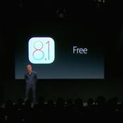 苹果发布iOS 8.1 下周一开放更新