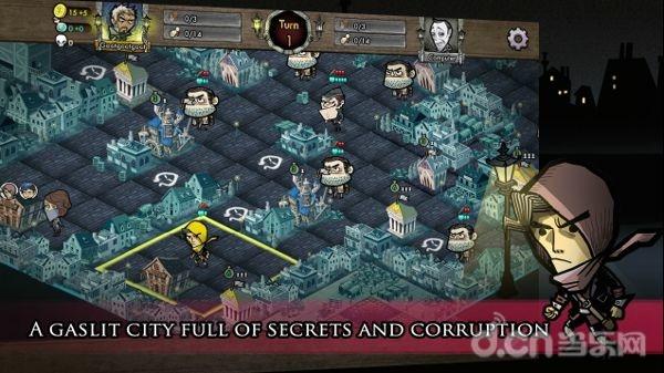 狄更斯笔下的罪恶之城 4X策略《反英雄联盟 Antihero》非泛泛之辈_手机游戏新闻_当乐原创频道