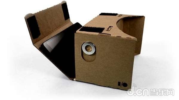谷歌的简易3D眼镜Cardboard