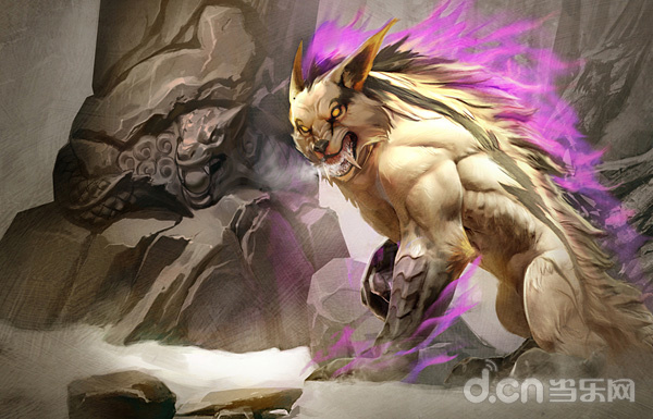 MOBA大作Vainglory最終榮耀大更:狼形英雄猙獰 皮膚系統耀眼
