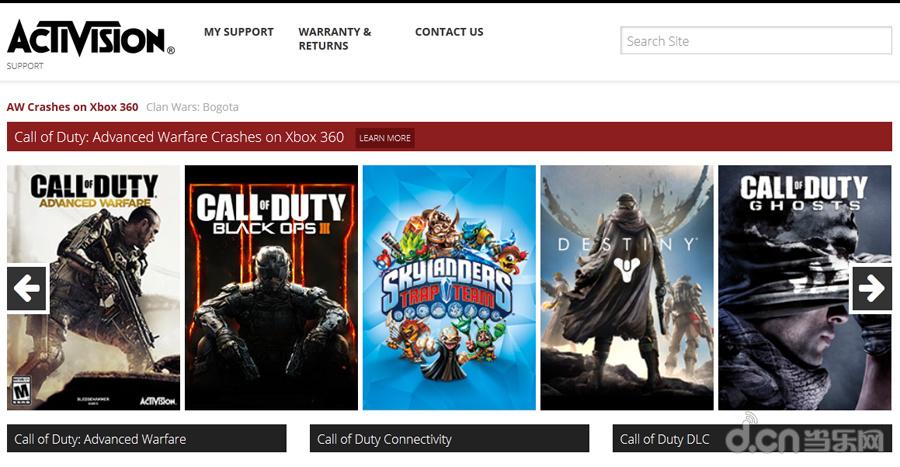 Activision 现在以 COD 为主,投给其他 IP 上的资源并不多