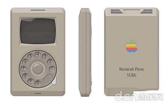致敬苹果电脑风格设计师推出Macintosh经典手v苹果iphone图片