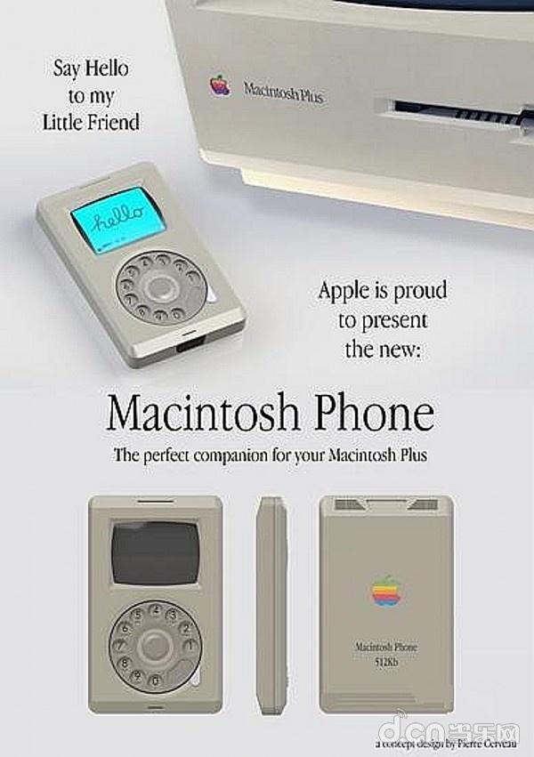 推出手机风格苹果设计师致敬Macintosh苹果手购买国行经典电脑是激活过的图片