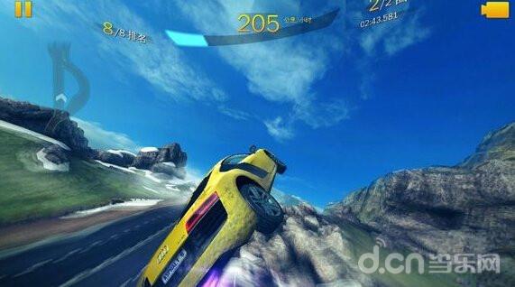 狂野飙车8:极速凌云攻略 水平旋转技巧