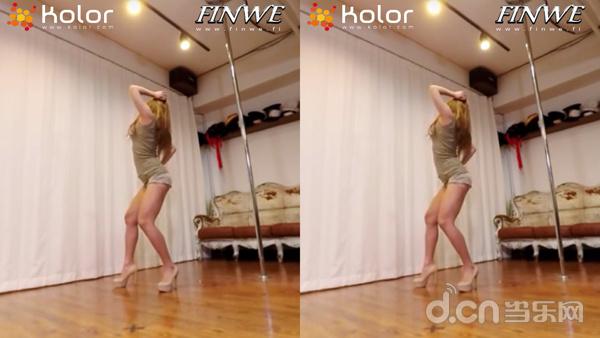 VR360度体验棒妹舞蹈
