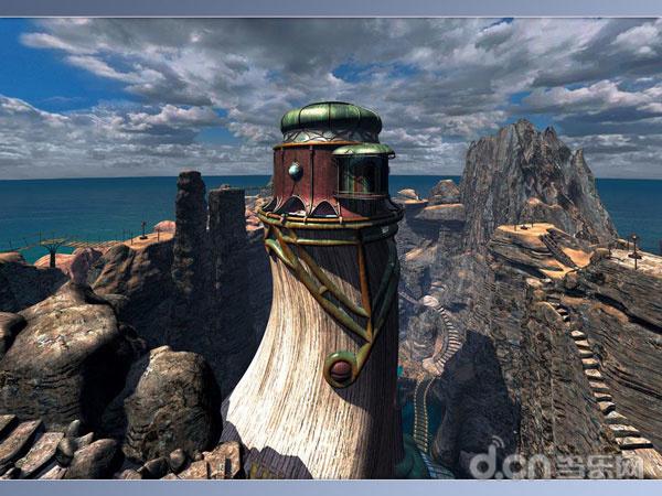 一代经典的《神秘岛》游戏截图