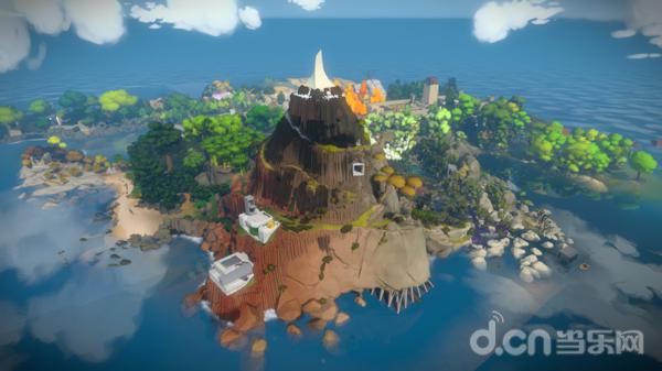 这就是《目击者》中孤岛的全貌