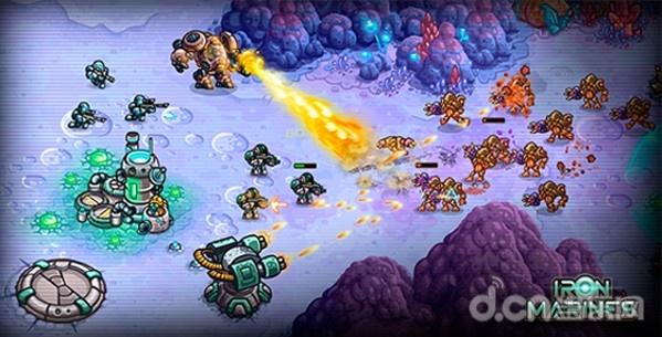 東品遊戲代理王國保衛戰開發商新作《鋼鐵戰隊》 同時啟動100+戰略計畫