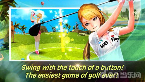 3D運动手游《Nice Shot Golf》雙平臺上線