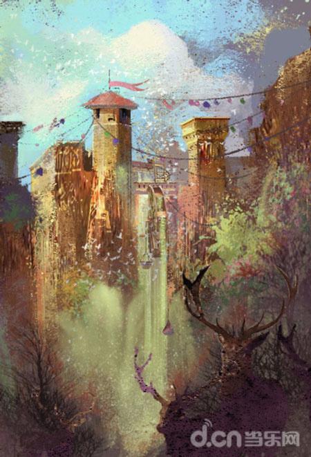 场景概念图:王城