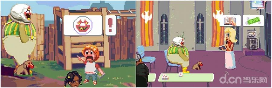 游戏尽可能的使用没有文本的图形语言来进行交互