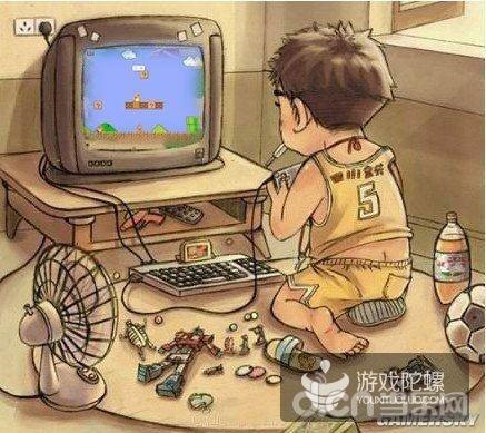 """逼着父母给买了一台小霸王""""学习机""""才知道电子游戏这东西跟以往玩的游"""