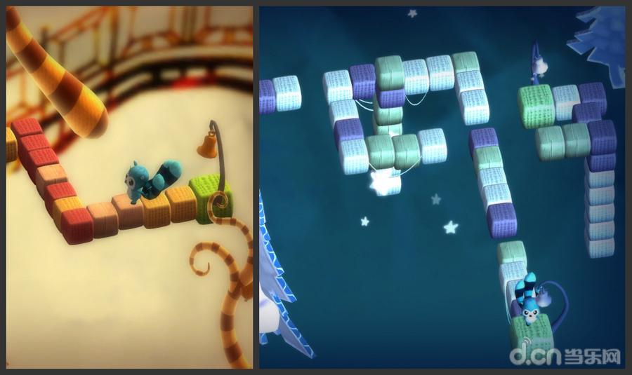 移动平台上的视觉差解谜游戏《纪念碑谷》以其文艺的画风和颇有亮点的机关谜题,深深的折服了喜欢益智游戏玩家们的心,由荷兰艺术家埃舍尔创作的三维空间画作,以其创作作品多以平面镶嵌、不可能的结构、悖论、循环等为特点,被后世的游戏开发商所借用,创造了如此具有奇思构想的艺术品,自然而然,当《纪念碑谷》人气暴涨之后,精明的游戏商人们自然不会放过这块领域的商机,无论是抄袭还是以自己的想法制作同类型的游戏,游戏厂商总是变换着花样来讨好着玩家,趁着大家的热情还没有消退之际希望从中能分到一杯羹,《四季之魂》就是如此,当然游戏的