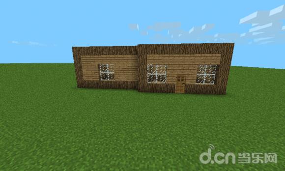 我的世界手机版Minecraft–Pocket Edition 木屋别墅建造教程 新手建筑