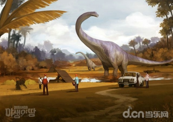在恐龙世界玩儿生存!动作冒险mmorpg《野生之地》制作
