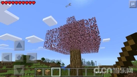 《我的世界手机版》js分享:樱花树