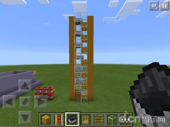 《我的世界手机版》动力矿车电梯制作教程攻略