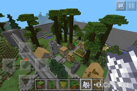 《我的世界手机版》参天大树制作种植技巧攻略