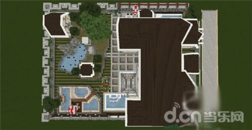 《我的世界手机版》豪华建筑别墅欣赏