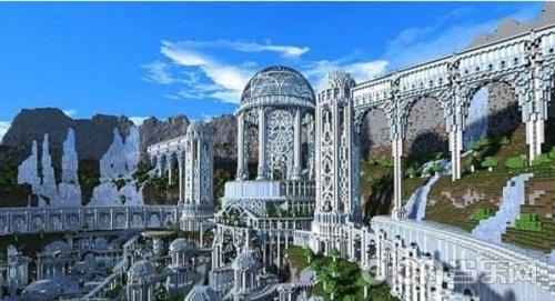 我的世界手机版大型建筑设计图分享