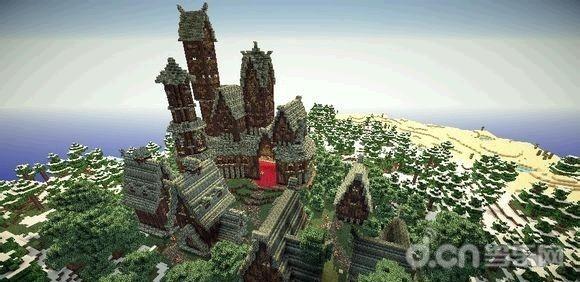 游戏建筑设计图