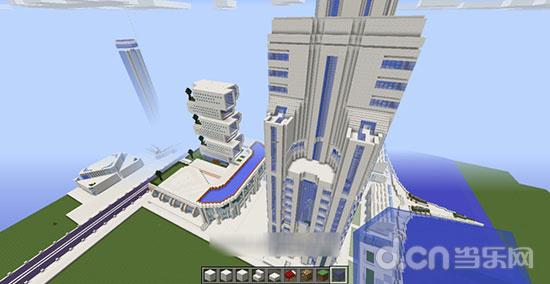 我的世界手机版高楼设计图分享