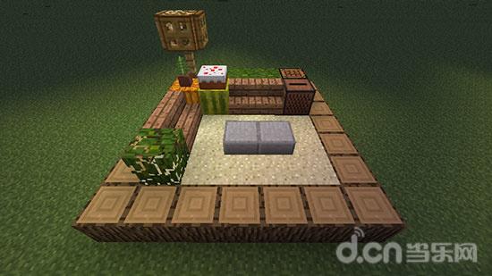 我的世界手机版房屋内部设计:客厅装饰方案