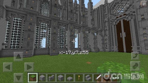 我的世界手机版中世纪建筑建造教程