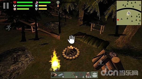 《幸存者遗忘的森林》是一款以荒野求生为主题的模拟类休闲游戏.