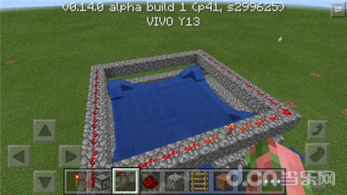 我的世界手机版0.14半自动小麦塔制作教程