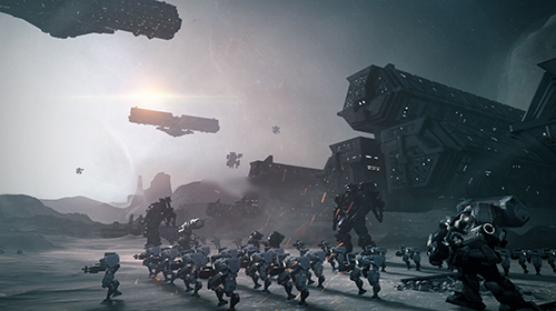 网易进军FPS市场 RPG射击手游《代号S7》正式曝光CG视频