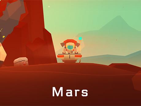 幼儿火星简笔画彩色