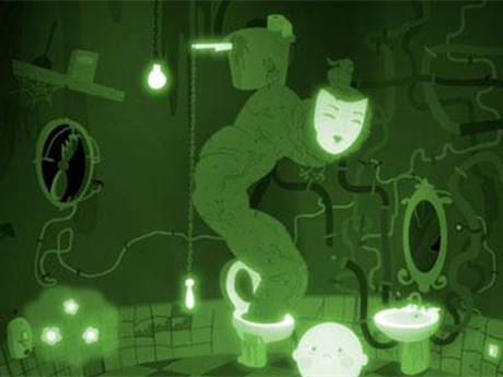 灯泡发亮电路图