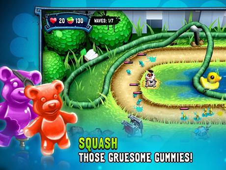 酸布丁小孩:糖果防卫战