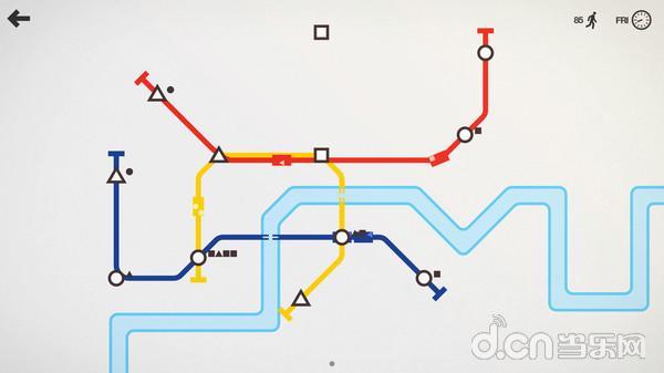 《迷你地铁》迎来更新,新增四个城市地图