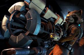 Telltale公布了《银河护卫队》手游截图,看起来棒极了