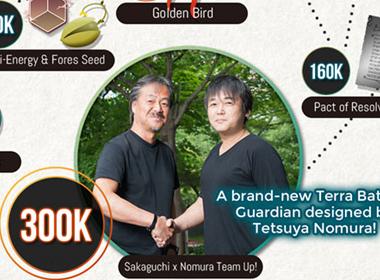 达到30万预约人数,《特拉之战2》将促成野村哲也与坂口博信20年首度合作