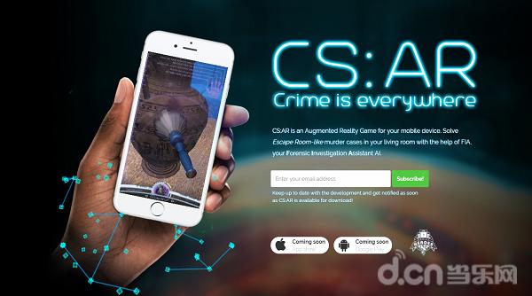 用你的手機在《CS:AR》中體驗破案的快感!