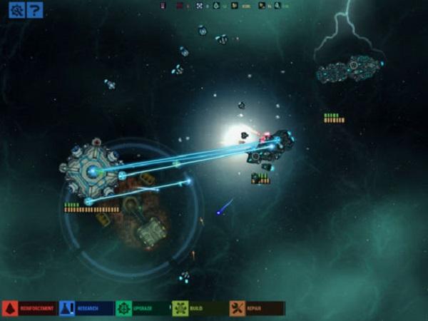 作战部队:星际围攻