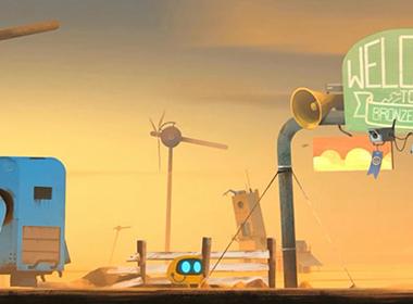机器人的忧郁探险,莉莉丝自研解谜游戏《Abi》明日上架