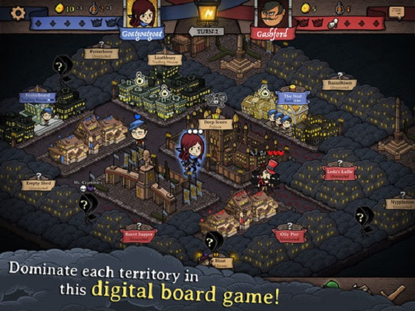 Antihero - Digital Board Game
