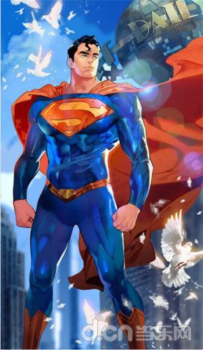 最后的氪星之子,钢铁之躯!《小冰冰传奇》dc正版授权超人震撼来袭!