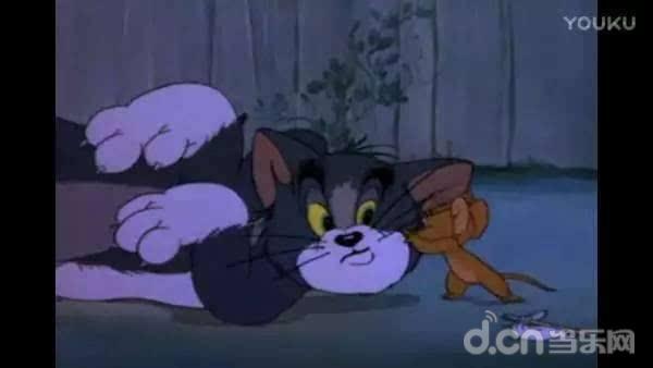 杰瑞:古灵精怪的小老鼠