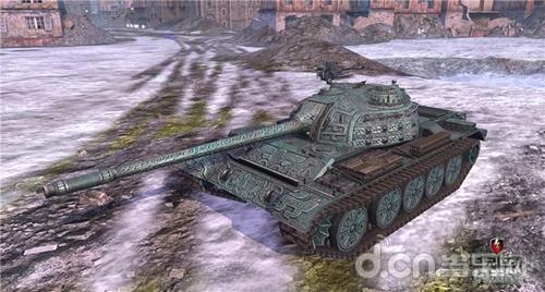 《坦克世界闪击战》5.2版本C系绝版涂装上线
